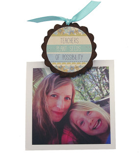 teachers plant seeds of possibility quote handmade in usa pic clip fridge refrigerator photo magnet cute great gift for teacher