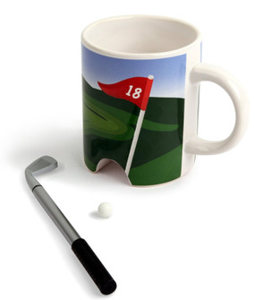 putter cup coffee mug gift for golfer dad grandpa grandfather boyfriend fathers day