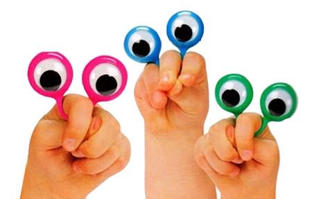 finger eyes funny gift stocking stuffer for kids