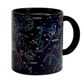 cool constellation coffee tea mug heat sensitive