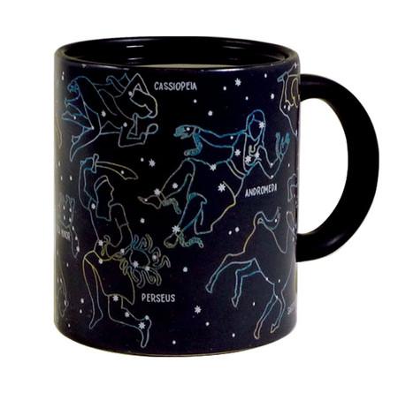 cool constellation coffee tea mug heat sensitive