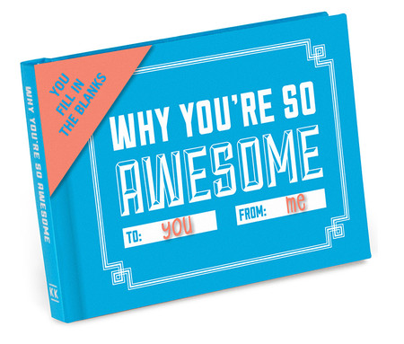 why youre so awesome to you from me book