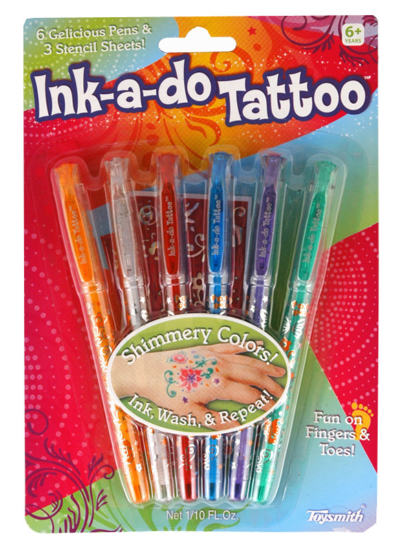 Ink A Do Tattoo Pens Kids Craft Kit Birthday Gift For