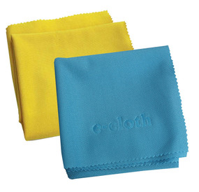 e cloth eco friendly glass cleaning polish set mirror cleaner chemical free yellow blue