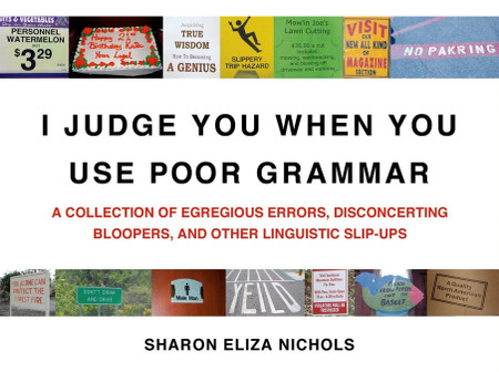 i judge you when you use poor grammar book humorous funny gift for friend guy
