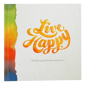 live happy find the joy thats all around you inspirational book gift for mom grandma grandmother friend