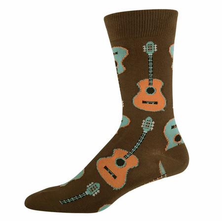 guitar musician musical socks for guys dad teen tween graduation gift rock star