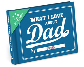 what i love about dad daddy blank fill in the blank journal inspirational gift fathers day