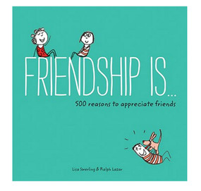 friendship is book cute sentimental gift for best friend girlfriend 500 reasons to appreciate friends