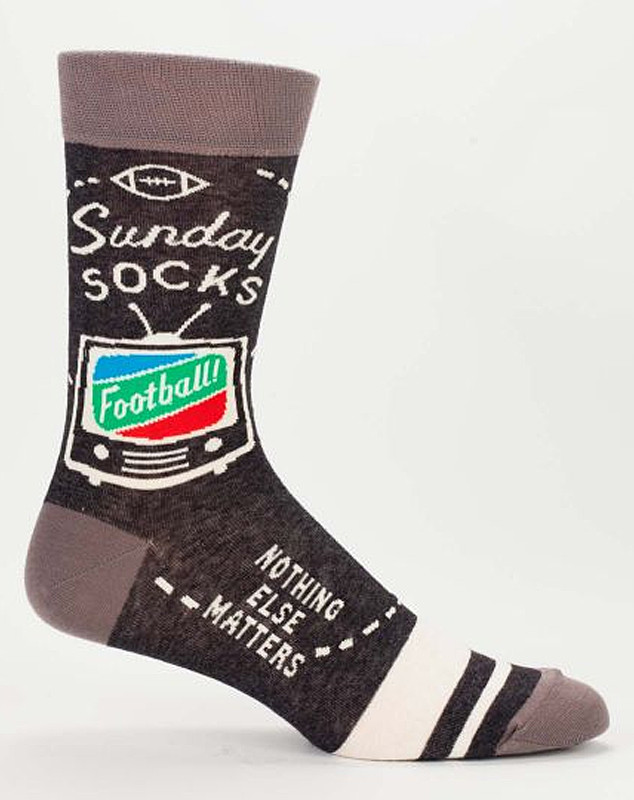 sunday football crew socks