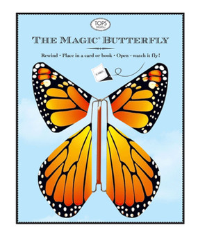 flying magic wind up butterfly unique inspirational gift for mom grandma teacher butterfly lover celebrations