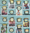cute family photo whimsical magnetic clip frame