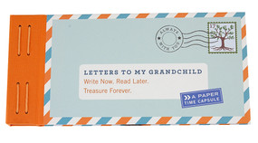 letters to my grandchild book unique gift for grandma grandpa grandfather grandmother