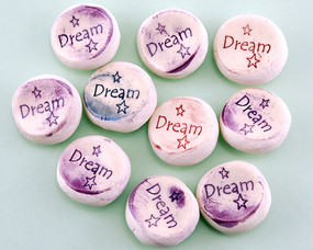 dream worry stone help how to break a habit pocket trinket gift person that has everything inspirational stocking stuffer motivational stress relief buster