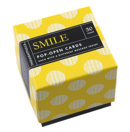 smile pop open cards set just because inspirational quotes how to make someone smile