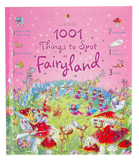 1001 things to spot in fairyland activity puzzle book girl gift birthday