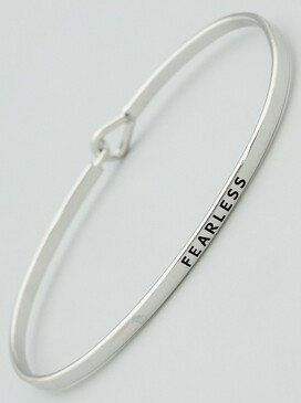 fearless thin bangle