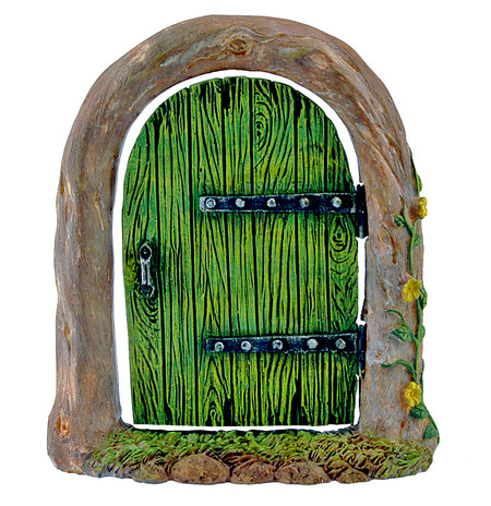 woodland fairy door cute garden accessory whimsical little girls wife gift grandma