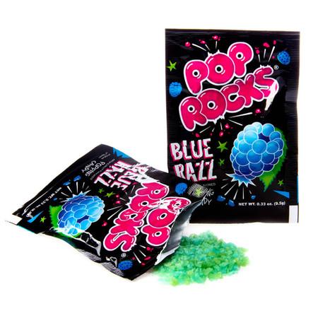 blue razz raspberry fruity pop rocks retro nostalgic candy fun stocking stuffer little boys girls kids easter basket