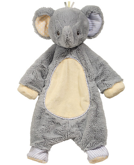 elephant plush blanket snugglie blankee blankie sshlumpie great baby shower gift stocking stuffer toddler cuddly toy little boy girl newborn