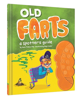 old farts a spotters guide book funny humorous retirement over the hill gift grandfather grandpa dad