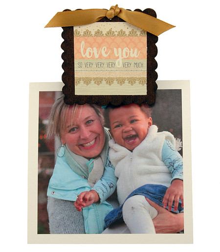 love you so very much pic photo clip fridge magnet whimsical quote saying sentiment magnetic inspirational