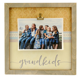 grandkids grandchildren large clip frame gift for grandma grandmother custom personalized whimsical cute
