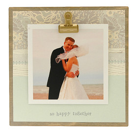 so happy together tiny rustic frame cute whimsical gallery wall photos valentines day anniversary wedding honeymoon shower gift engagement couple