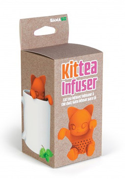 kittea infuser great gift for tea lover mom grandma girlfriend stocking stuffer mothers day whimsical cat lover