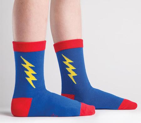 superhero superman kids crew socks birthday gift stocking stuffer cute unique easter basket