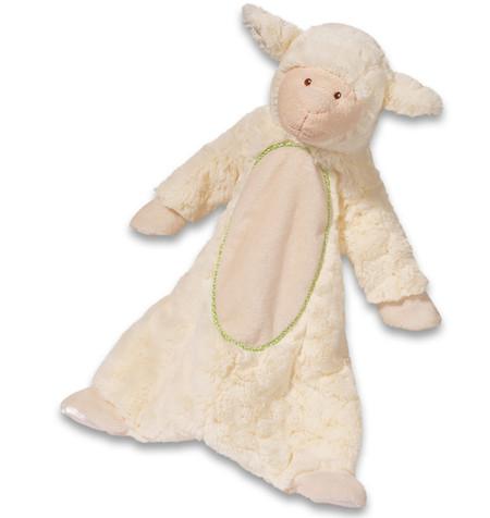 lamb plush blanket snugglie blankee blankie sshlumpie great baby shower gift stocking stuffer toddler cuddly toy little boy girl newborn