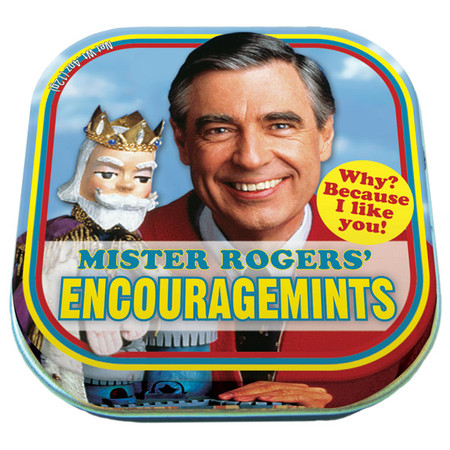 mints,mr. rogers,kids show,inspirational,candy