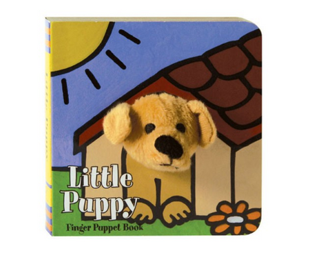 books,baby book,finger puppet,puppy
