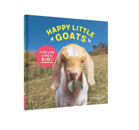 goats,happy goats,animals,cute,books