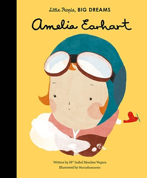 little people big dreams,books,children's books,amelia earhart