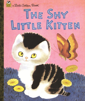 Golden Book Shy Kitten