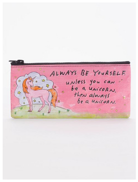 pencil case,unicorn,cute,be yourself