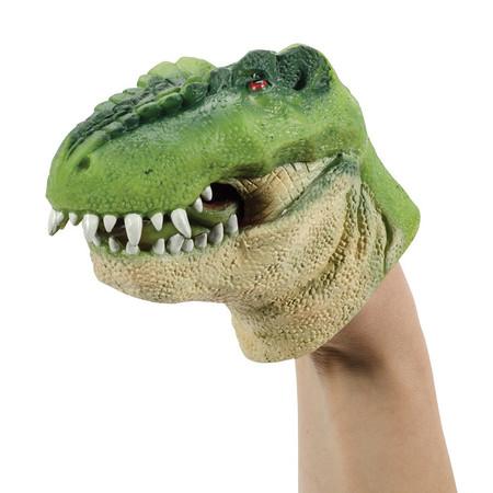 dinosaurs, t-rex, puppet
