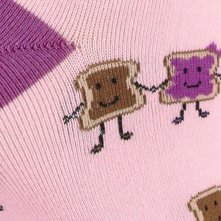 peanut butter and jelly, pb&j, socks