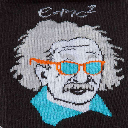 einstein, genius, socks