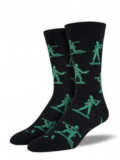 army men, green, socks, men