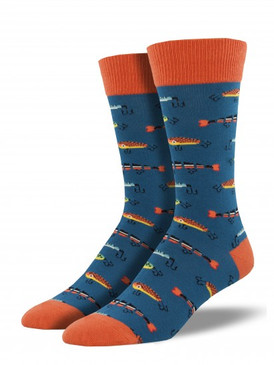 fish, fishing, mens socks, fishermen