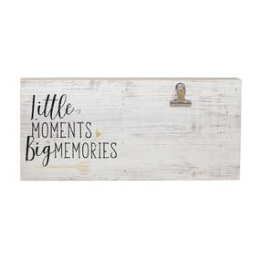 Wood Clip Frame Big Memories