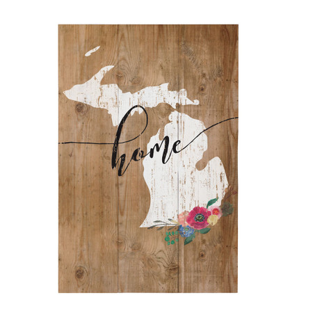 sign, decor, home, decoration, michigan, floral, flowers