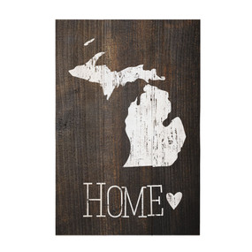 michigan, home, sign, decor, home, decoration