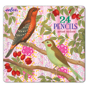 colored pencils, art, fun, tin, pack, 24-pack, colorful, cool, artistic, kids, creativity