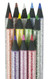art supplies, erasers, pencils, markers, paint, crayons, colored pencils
