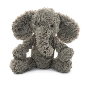 stuffed animal, elephant, soft, fluffy