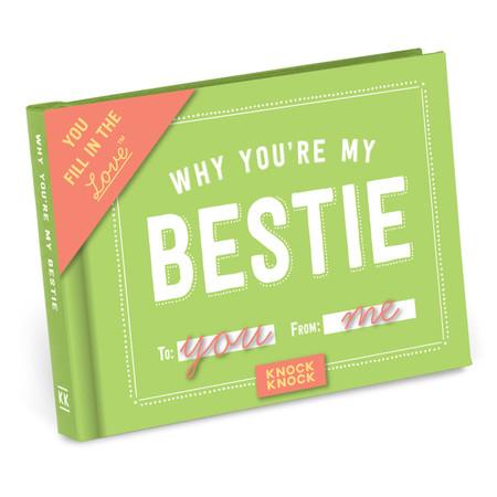 bestie, best friends, friendship, book, fill in the blank