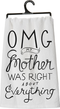 towel, funny, humorous, mom, gift for daughter